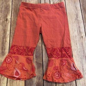 Naartjie Orange Capri leggings